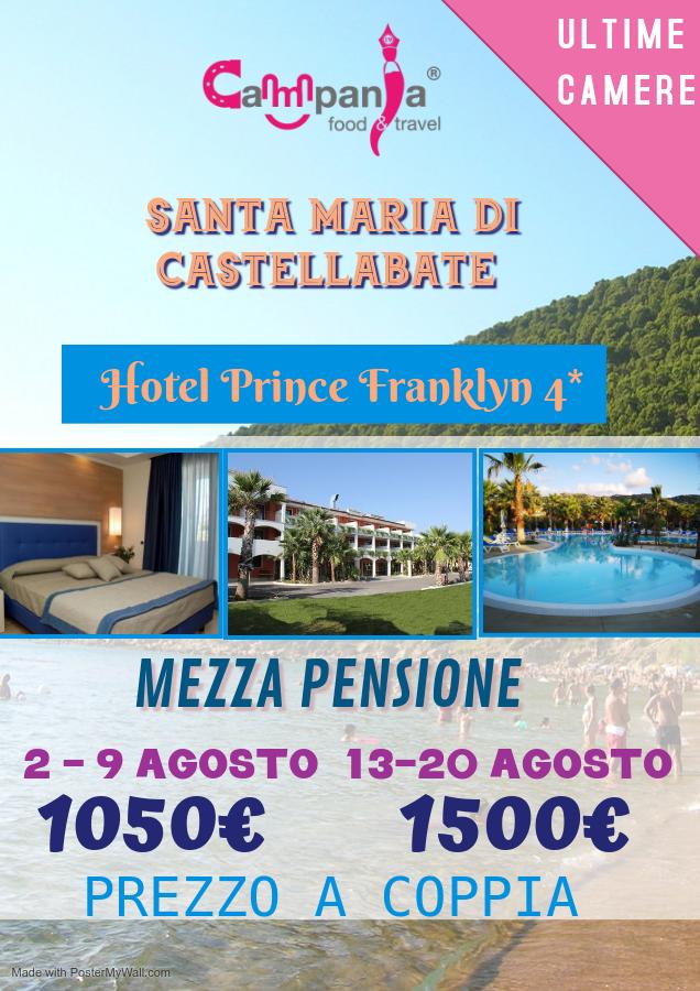 Hotel Prince Franklyn 4* prezzi per agosto