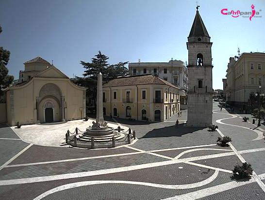 Benevento campanile campaniafoodetravel