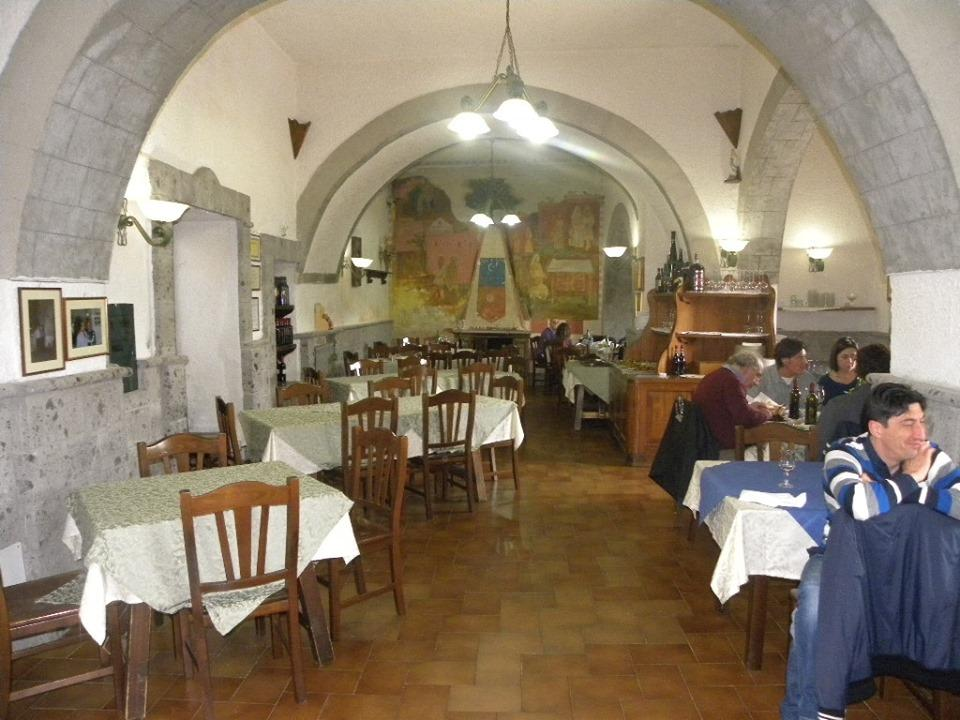 Interno Ristorante Mastrangelo Campania Food e Travel
