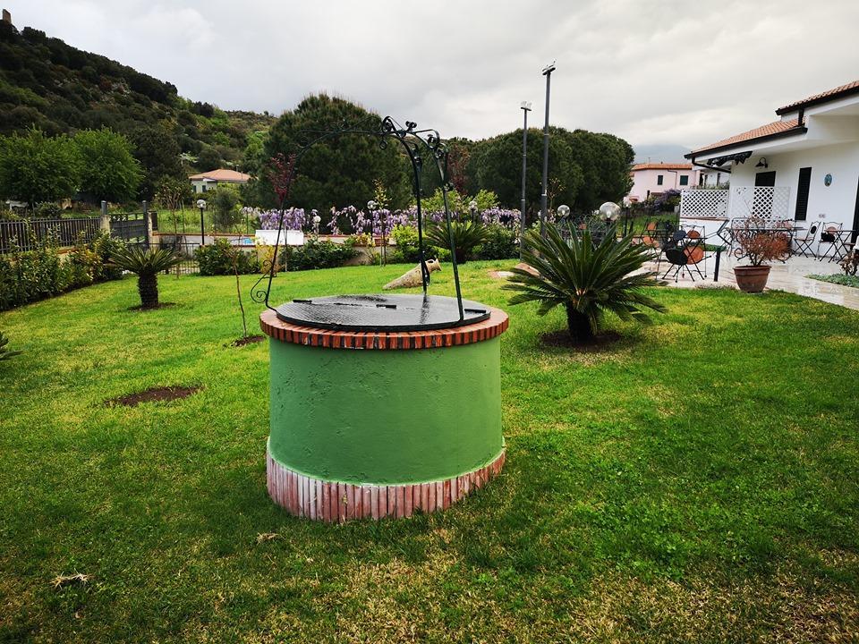 Giardino esterno BeB Villa Maredona