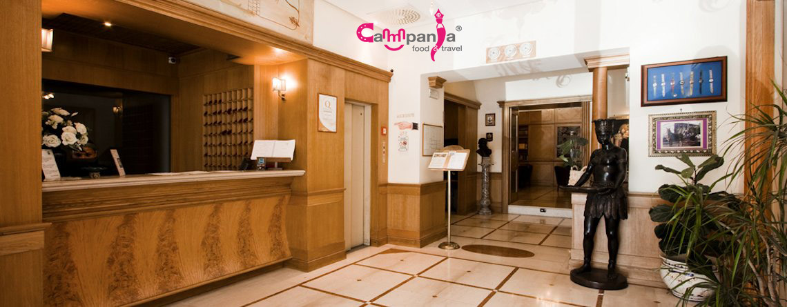 grand-hotel-europa-napoli-reception campaniafoodetravel