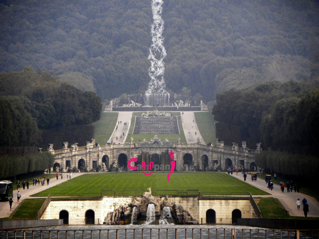 reggia di caserta fontane campaniafoodetravel
