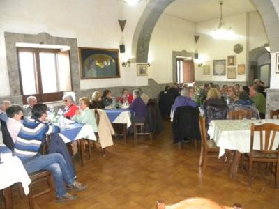 Tavoli interni Ristorante Mastrangelo Campania Food e Travel