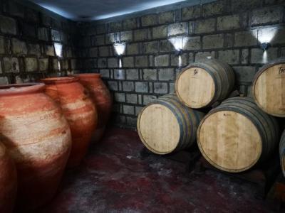 Botti di vino casa setaro