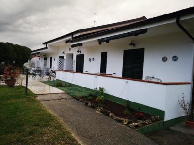 Ingresso esterno BeB Villa Maredona