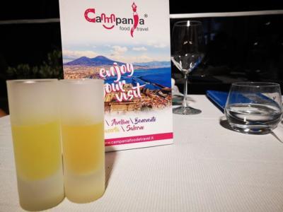 Bicchierino di Limoncello al ristorante Melchiò