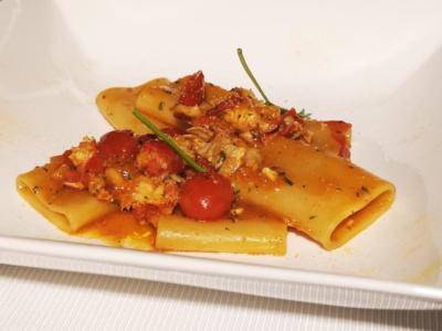 Primo piatto al ristorante Melchiò